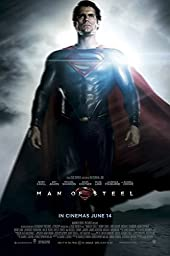 POP Home Store Man Of Steel Superman Movie Poster Printing12X18 Inch