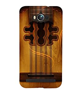 PRINTSHOPPII GUITAR STRINGS Back Case Cover for Asus Zenfone Max ZC550KL