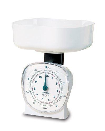 Salter 5Kg Kitchen Scale White by Salter