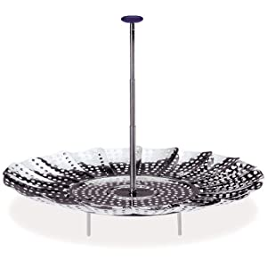 Progressive International 9-Inch Easy Reach Stainless Steel Steamer Basket