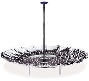 Prepworks from Progressive International 2090L 9-Inch Easy Reach Stainless Steel Steamer Basket