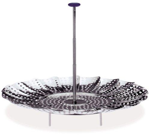 Progressive International 9-Inch Easy Reach Stainless Steel Steamer Basket