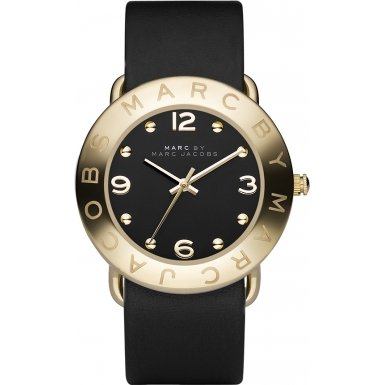 Marc-Jacobs-Damen-Armbanduhr-Analog-Quarz-Leder-MBM1154
