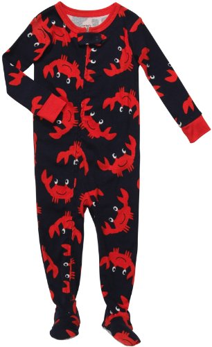 Carter's Footed Snug Fit Cotton 1 Pc Pjs Crabs (12 months)