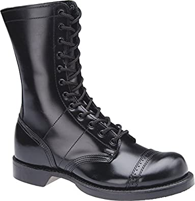 "HH Brown Women's 10"" Original Jump Boots, BLACK, 4"