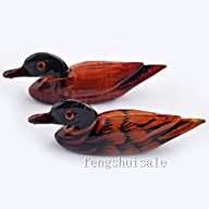 Pair Mandarin Ducks Feng Shui Love & Fidelity/r esin