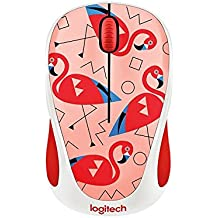 Logitech  Party Collection Flamingo M238 Wireless Mouse (Pink)