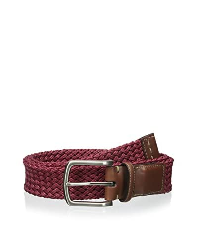 Torino Leather Co Men's Woven Linen Belt