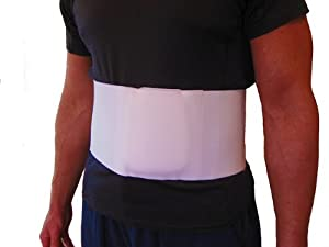 Hernia Belt Truss (Umbilical Navel) - Large by FlexaMed