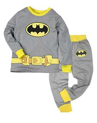 Cm-Cg Little Boys' Batman Pajama Sleepwear Shirts & Pants Outfits Sets 5-6Y