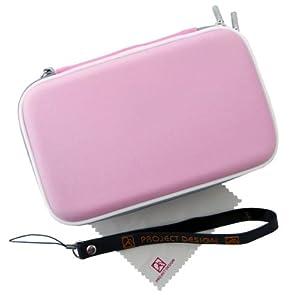 Geschenkpaket für Nintendo 3DS XL - Tasche / Hardcover / Schutzhülle + Netzteil / Ladegerät / Ladekabel + Ersatzstift / Pen / Stylus