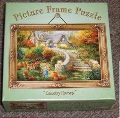 "Picture Frame 250 Piece Jigsaw Puzzle - ""Country Harvest"" by Nicky Boehme"