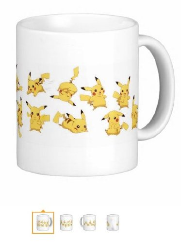 Pair Of Pikachus 11 Ounce Mugs - Custom Coffee / Tea Cups - Dishwasher And Microwave Safe