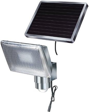 Brennenstuhl Lampe à LED solaire pour l'extérieur SOL 80 ALU IP44
