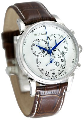 Millage Hampton White on Silver