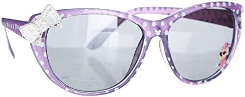 Disney Minnie Mouse Girls Cat Eye Bow Sunglasses