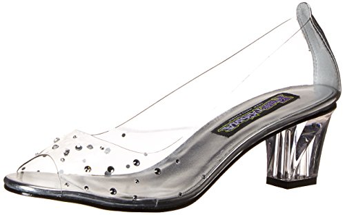 Funtasma Women's Crystal-100 Slide Pump