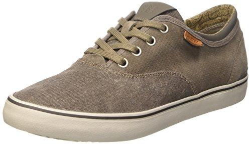 Geox U Smart B Scarpe Low-Top, Uomo, Grigio (Dove Grey), 42