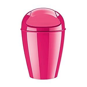 Koziol poubelle salle de bains rose koziol dell s cuisine maison - Poubelle salle de bain rose ...