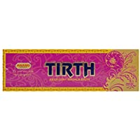 ANAND Tirth Excellent Charcoal & Bamboo Incense Sticks (20.32 Cm, 100 G, Beige, Pack Of 1)