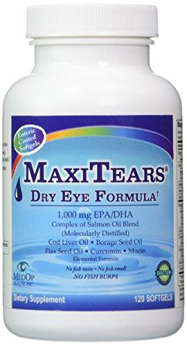 MedOp MaxiTears Dry Eye Formula 120 softgels