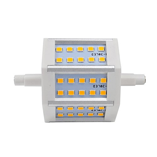 4W-14W Dimmable/Dimmable Led Bulb Lamp Light R7S Smd 85-265V Ac Flood Lamp Warm White (20, 6W-Dimmable)
