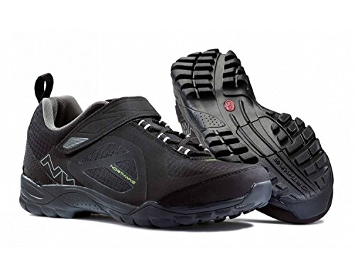 Northwave Escape Nero - Scarpe da trekking unisex, - black, EU 42 UK 9