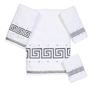 Avanti Linens Avanti Premier Athena 4-Piece Towel Set, White at Sears.com
