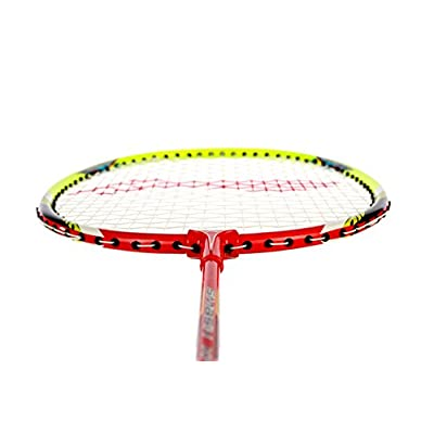 Li Ning Smash Xp 80 Badminton Raquet (Red/Green/White)