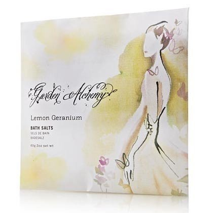 Thymes Lemon Geranium Bath Salts Envelope - Bath Body Garden Alchemy 0130040300 (Thymes Bath Salts compare prices)