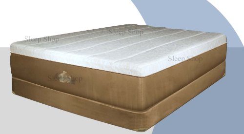 Sleep Shop Grand Luxury Cal King Memory Foam Mattress w/ Quilted Comfort Layers & Dual Air Flow System