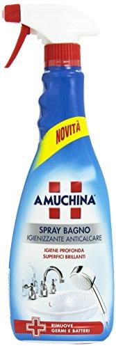 Amuchina - Spray Bagno, Igienizzante Anticalcare, 750 ml