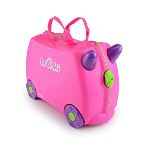 Trunki Trixie Ride-on Suitcase (Pink)