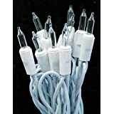 5 Sets - Bright 100 Clear/white Christmas Wedding Lights (Total 120 Feet) ~ Six Star Sales