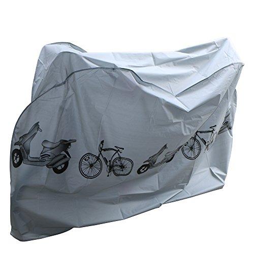 Telo Copribici,Telo Protettivo impermeabile per Biciclette,Copertura Bici Bicicletta Antipolveri Anti-Nakeey Copribici Telo Copri Bicicletta