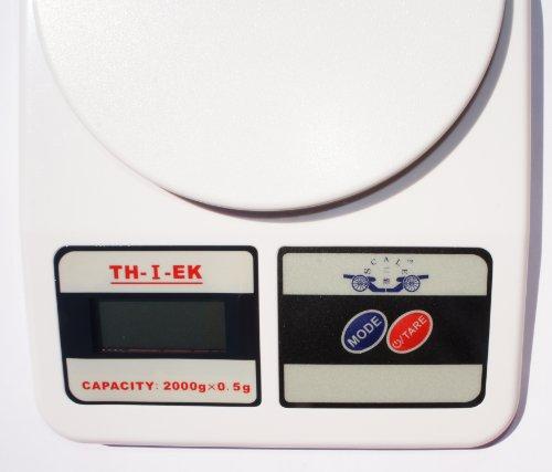 Balance numérique G, blanc, capacité : 2000 G X 0.5 gr