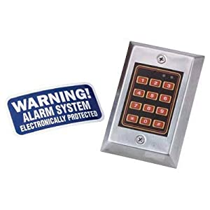 Scarecrow Simulated Alarm Key Pad, Model# DSB-137C-01