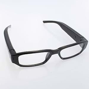 Onedayshop® 720P HD DVR Digital Camera Eyewear Camcorder Clear Lens Glasses Audio & Video Recorder(Black)