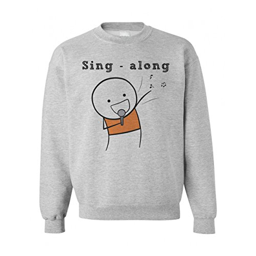 Sing Along Singer Design XXL Unisex Sweater