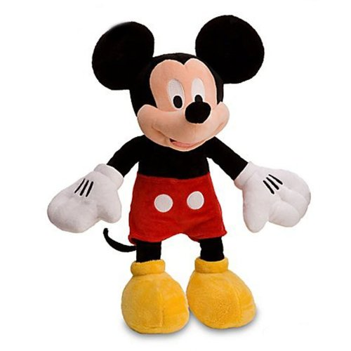 Mickey Mouse Plush 16 Inch Doll Disney