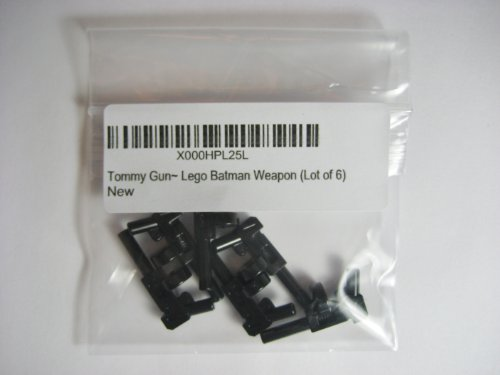 Tommy Gun~ Lego Batman Weapon (Lot of 6)