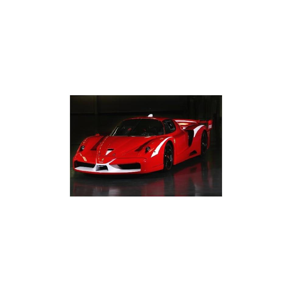 Ferrari FXX Evoluzione Diecast Model Car in 118 Scale by Mattel Elite