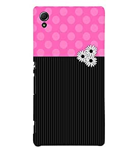 Bubble Pattern 3D Hard Polycarbonate Designer Back Case Cover for Sony Xperia Z4