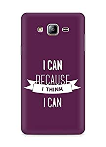 Amez I Can because I Think Back Cover For Samsung Galaxy ON5