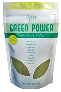 Green Power - Organic Superfood Blend 30 servings 8.5 oz bag