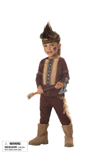 Indian Warrior Costume for Kids/Toddlers
