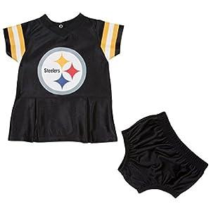 NFL Pittsburgh Steelers Infant Dazzle Dress & Bloomer Set from Gerber