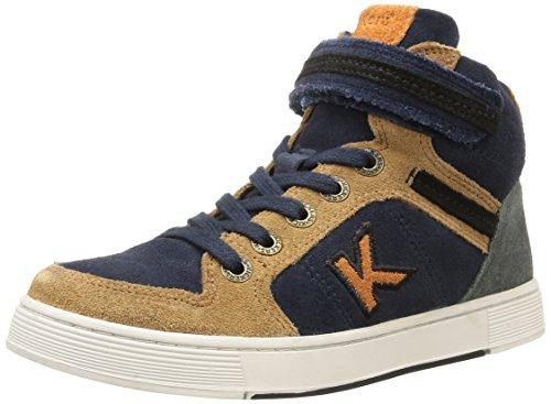 Kickers  Plusk,  Sneaker ragazzo Blu Blu (Marine) 29