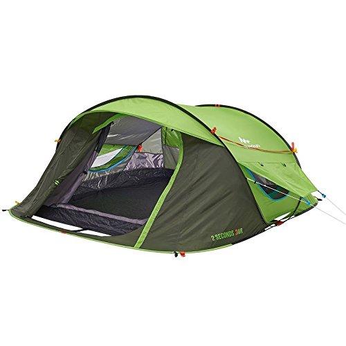 Quechua Waterproof Pop Up C&ing Tent 2 Seconds EASY AIR III 3 Man  sc 1 st  Desertcart & Quechua | Buy Quechua products online in Saudi Arabia - Riyadh ...