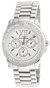 Juicy Couture Women's 1900710 Pedigree Stainless Steel Bracelet Watch